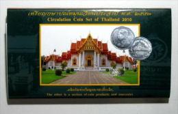 Thailand Coin 2010 Circulation Set 0.01 - 10 Baht - Thaïlande