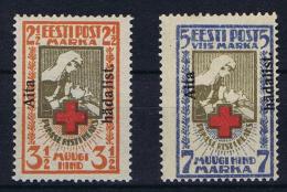 Estland: 1928, Mi Nr 46 - 47 , MH/* , Signed ! - Estonie