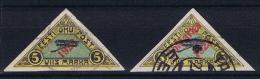 Estland: 1923 Airmail , Mi Nr 41 + 42 B, Used - Estland