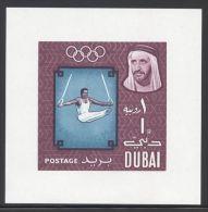 Dubai - 1964 Tokyo Block MNH__(THB-3698) - Dubai