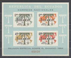 Ecuador - 1964 Bananas Block MNH__(TH-10530) - Equateur