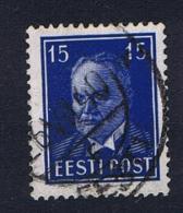 Estland: 1940 , Mi Nr 158 X , Used - Estonie