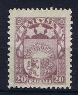 Latvija/Letland: 1921 , Mi 86 MNH/**