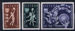 Lietuva/ Litauen: 1939, Mi 429 - 431, MNH/** - Lithuania