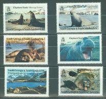South Georgia - 1991 Walruses MNH__(TH-8955) - Georgia Del Sud