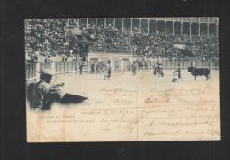 Corrida De Toros Adornandose En Un Quite 1902 - Toros