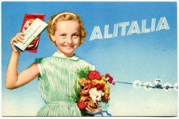 Alitalia. Pubblicità - Reclame