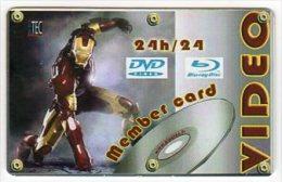 """Carte VIDEO fran�aise """" AVANT 1ere"""" - Abonnement 24h/24h - Distrib automatique- Neuve"""