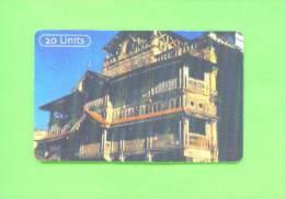 TANZANIA  - Chip Phonecard/Sultans House - Tanzania