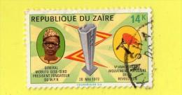 REP. DU ZAIRE ,, ***  14. K. ***   GENERAL MOBUTU SESE-SEKO ,, 20 MAI 72, ,, TBE - Zaire