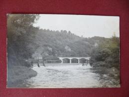 Trooz : La vanne et le pont du chemin de fer (dos ab�m�) (T558)