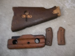 Lot Bois Complet Pour FM 24/29  Fusil Mitrailleur Chatellerault - Decorative Weapons