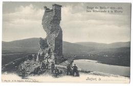 BELFORT (Franche-Comté) - Siège 1870-1871 - Les Allemands à La Miotte - N°11 - Belfort – Siège De Belfort