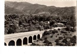 """C P S M---MAROC---OUIRGANE---le Pont Sur L´oued Et L´auberge Du """"sanglier Qui Fume""""---voir  2  Scans - Casablanca"""