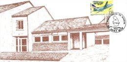 Timbre N° 2778 Année 1992-AVION Sur Carte La POSTE .Bureau De SAINT-BLIN-SEMILLY - France
