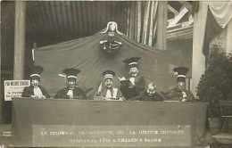 Saone Et Loire - Ref A141-chalon Sur Saone -carnaval 1911- La Justice -carte Photo   -carte Bon Etat - - Chalon Sur Saone