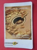 MAGNET Carte Magnétique Pub: La Poste >Non-respect Des Procédures> Pour Limiter Les Risques ,autant Ne Pas En Pren - Magneti