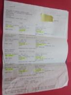 Billet Ticket D'avion British Airways >> Marseille Londres /New York BOARDING Pass Embarquement London - Billets D'embarquement D'avion