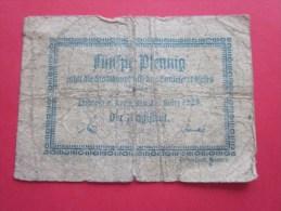 Billet Billet De Banque Allemand Allemagne Deutsche 50 Pfening - [ 3] 1918-1933 : República De Weimar