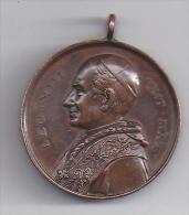 Pape LEON XIII - Leo XIII . Pont .Max -- Maria Concetta Senza Peccato - Italie