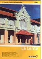 Rivista Ufficiale Poste Svizzere La Lente N.3 Del 2001 Con Listini E Offerte. - Cataloghi Di Case D'aste