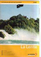 Rivista Ufficiale Poste Svizzere La Lente N.2 Del 2001 Con Listini E Offerte. - Cataloghi Di Case D'aste