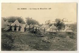 30 CPA NIMES - LE CAMP DE MASSILLAN - Manoeuvres