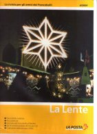 Rivista Ufficiale Poste Svizzere La Lente N.4 Del 2001 Con Listini E Offerte. - Cataloghi Di Case D'aste