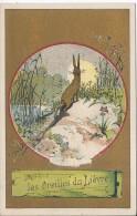 CHROMO - Les Oreilles Du Lièvre De La Fontaine - Trade Cards