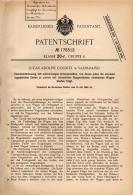 Original Patentschrift - L. Colditz In Valparaiso , 1904 , Eisenbahn Mit Mehrachsigen Untergestellen !!! - Historische Dokumente