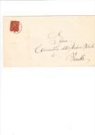 ITALIA  1890  - Sassone T15 Su Documento Da  Spoleto A Vercelli - 1878-00 Umberto I