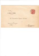 ITALIA  1890  - Sassone T15 Su Documento Da  Treviso A Morgano - 1878-00 Umberto I