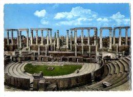 LYBIE  THETRE  LEPTIS MAGNA  CPM 1940/50 - Libië