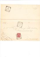 ITALIA  1901 - Sassone  60 Su Documento Da Castiglione Della Valle A Teramp - 1878-00 Umberto I