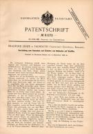 Original Patentschrift - B. Leslie In Falmouth , Cornwall , 1896 , Apparatus For Tenders On Ships, Ship !!! - Boats