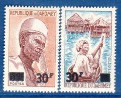 DAHOMEY - N° 253/254   **  (1967) - Benin – Dahomey (1960-...)