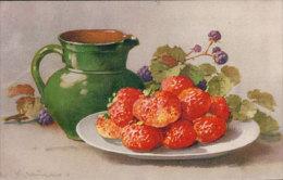 Klein Catharina, Fruits Litho (9477) Traces De Collage Au Dos - Klein, Catharina