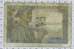 10 Francs Mineur, Ref Fayette 8-12, état TB-TTB - 1871-1952 Anciens Francs Circulés Au XXème