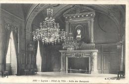 LYON  - 69 -   Hotel De Ville  - La Salle Des Banquets  -  210813 - Lyon