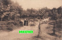 Feldpost  25.3.1918 - 2. Masch.-Gewehr-Komp. Des 1.Küstenbataillons, ZENSUR,  AK: Knocke-sur-Mer, Promenade Zu Zweit - War 1914-18