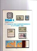 PHIL 3 .1992. - Cataloghi Di Case D'aste