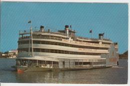S.S. President Steamer On Mississippi River - Boat Bateau Vapeur - Steamers