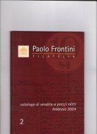 Frontini 2004. - Catalogues De Maisons De Vente