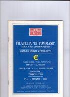 Di Tommaso 2002. - Cataloghi Di Case D'aste
