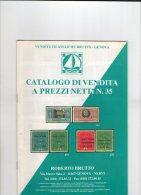 Roberto Brutto Vendita Generale. N.35. - Catálogos De Casas De Ventas