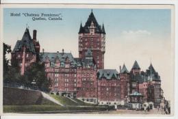 Québec P.Q. - Château Frontenac In 1937 - Pub. By Librairie Garneau - Québec - Château Frontenac