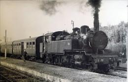 Photo Locomotive TB 9 Cliché Schnabel à Situer - Trains