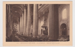BOULOGNE SUR MER - N° 111 - LA CATHEDRALE  INTERIEUR VERS ST JOSEPH - Boulogne Sur Mer