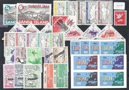 Europa 1961 à 1964 Séries Complètes Des Iles Anglaises - Local Issues