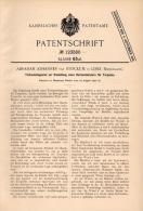 Original Patentschrift - A. Van Stockum In Lisse , 1900 , Tiefenapparat Für Torpedo , Torpedos !!! - Documenten